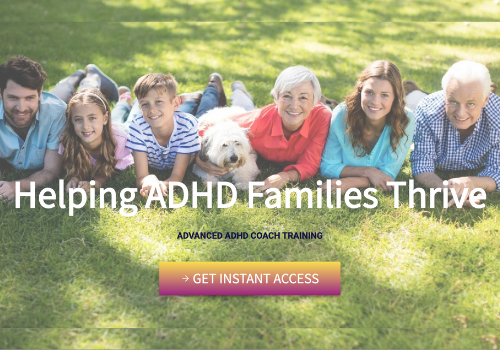 Learn the unique coaching skills, specific practice details, and valuable resources to work with ADHD families, parents, and students.
